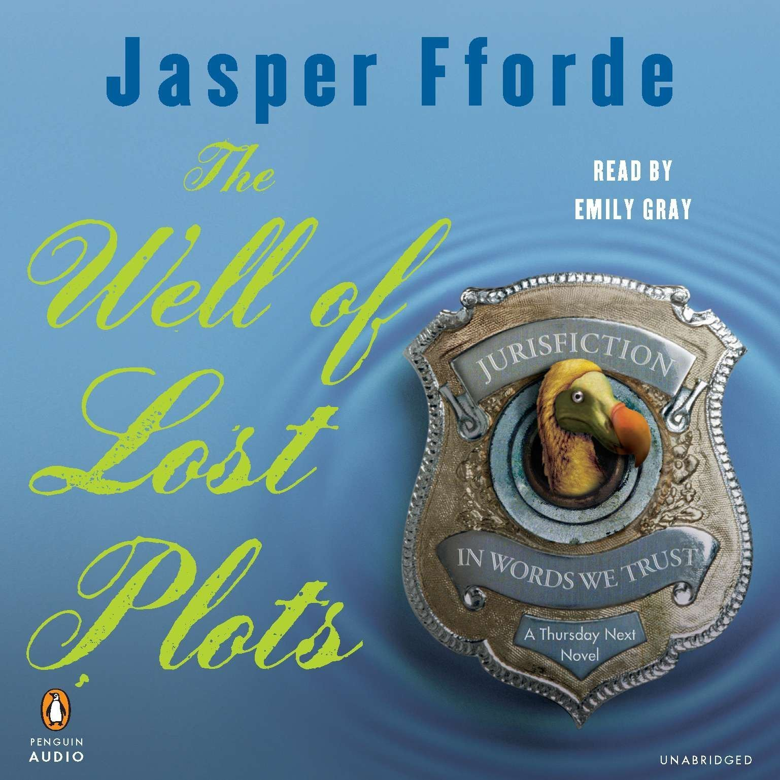 Printable The Well of Lost Plots Audiobook Cover Art