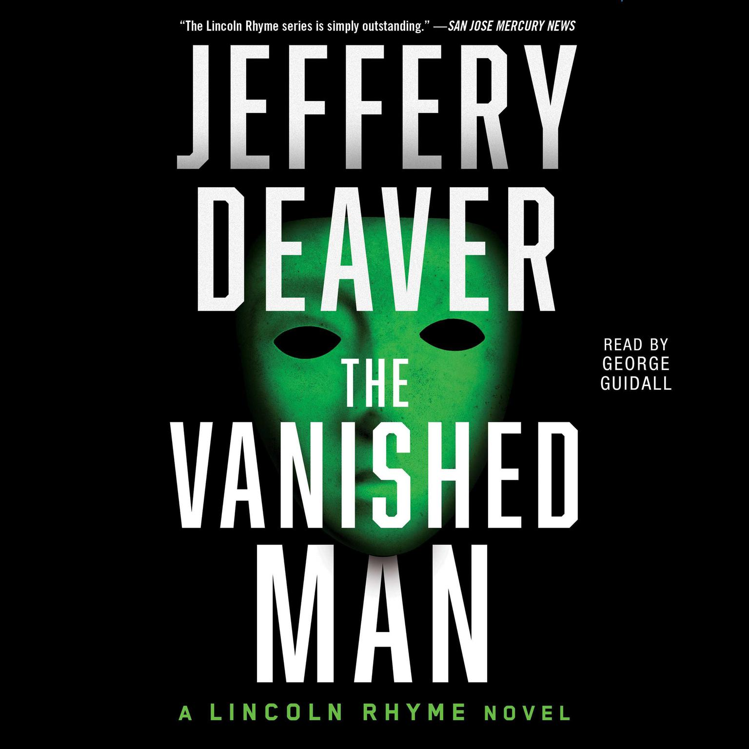 Printable The Vanished Man: A Lincoln Rhyme Novel Audiobook Cover Art