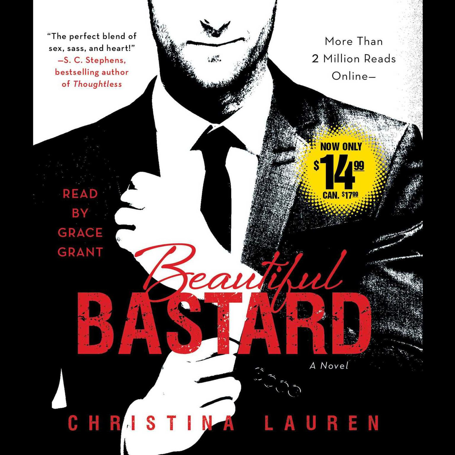 Printable Beautiful Bastard Audiobook Cover Art