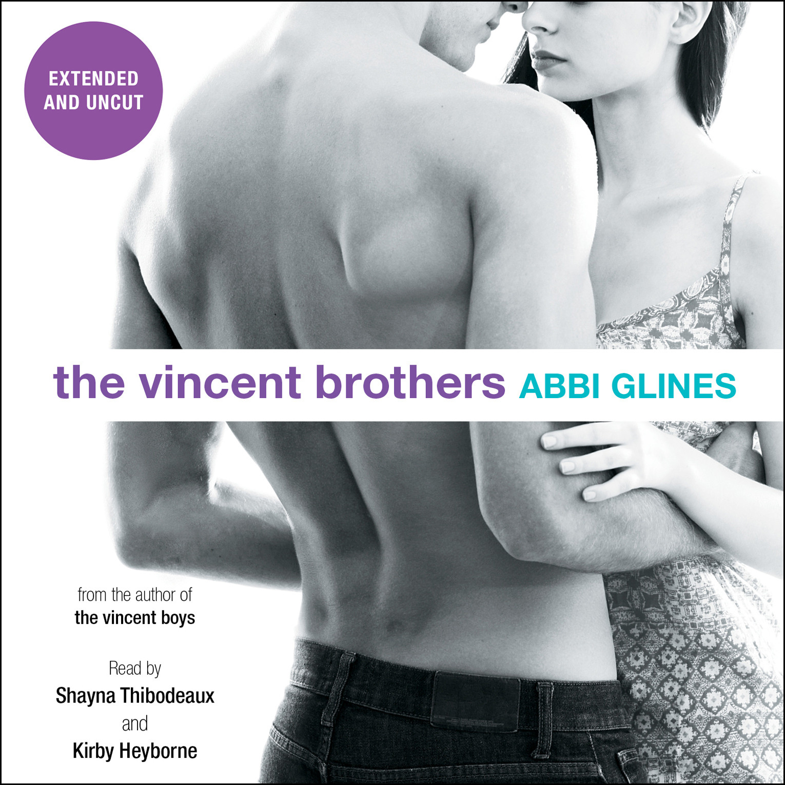 Printable The Vincent Brothers -- Extended and Uncut Audiobook Cover Art
