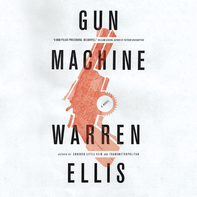 Printable Gun Machine Audiobook Cover Art