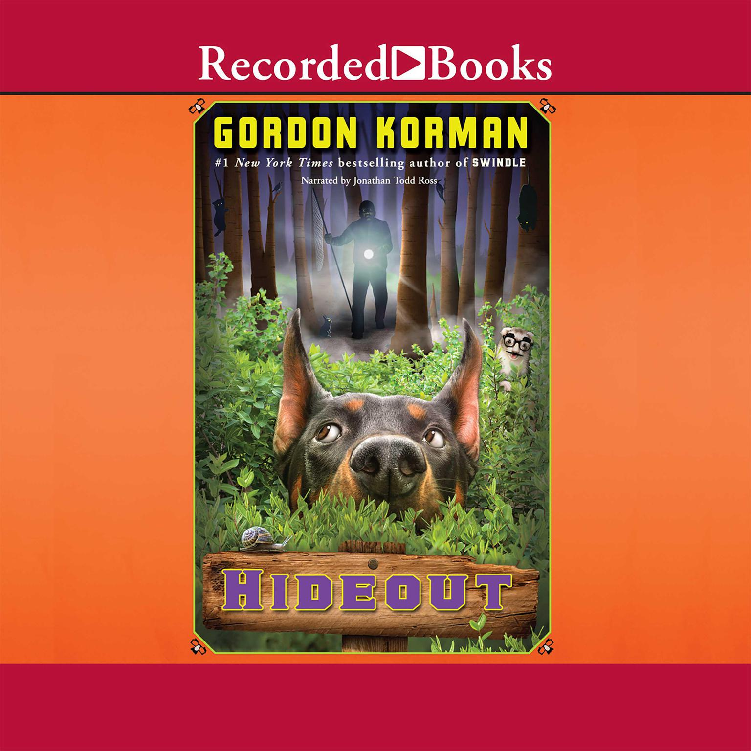 Printable Hideout Audiobook Cover Art