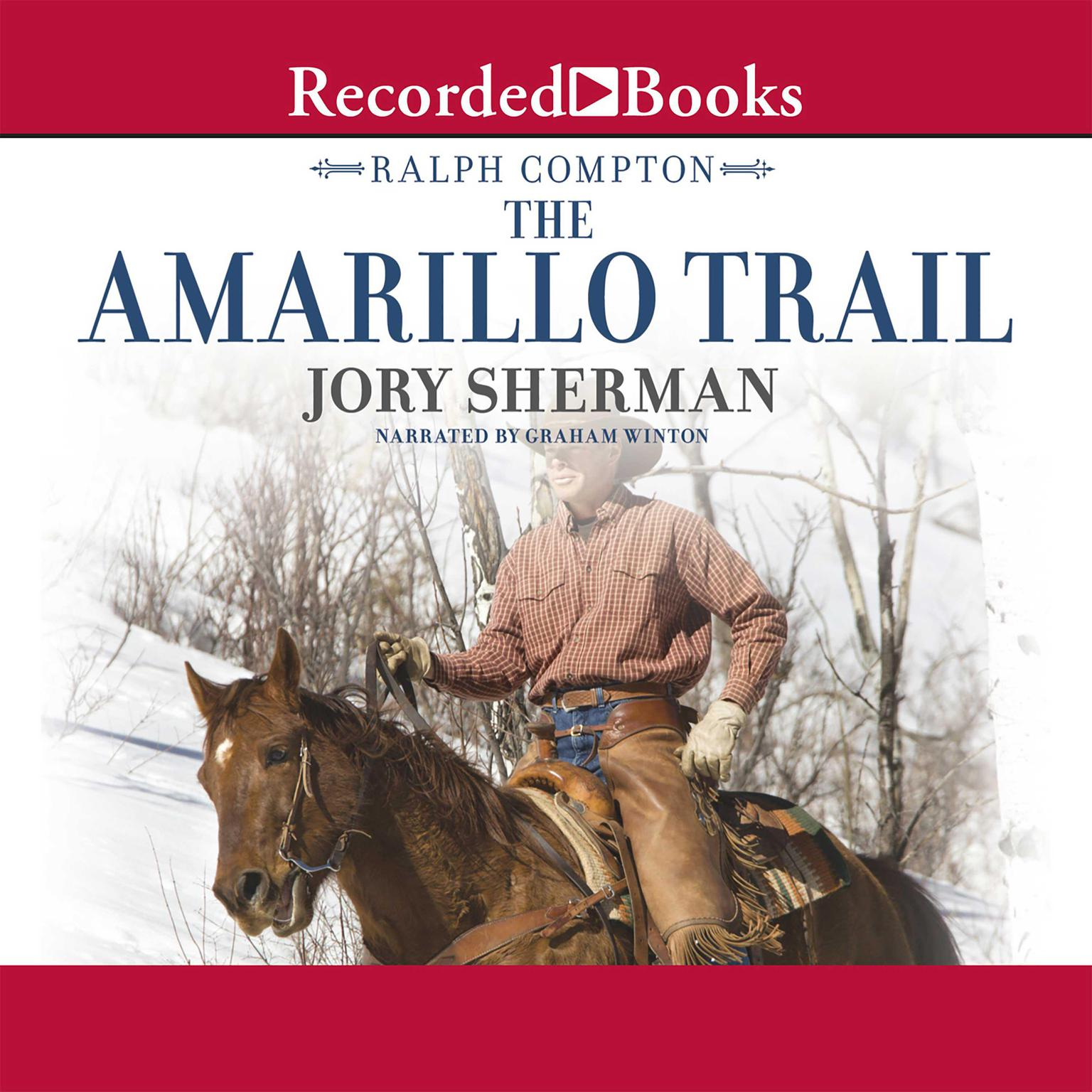 Printable The Amarillo Trail: A Ralph Compton Novel Audiobook Cover Art
