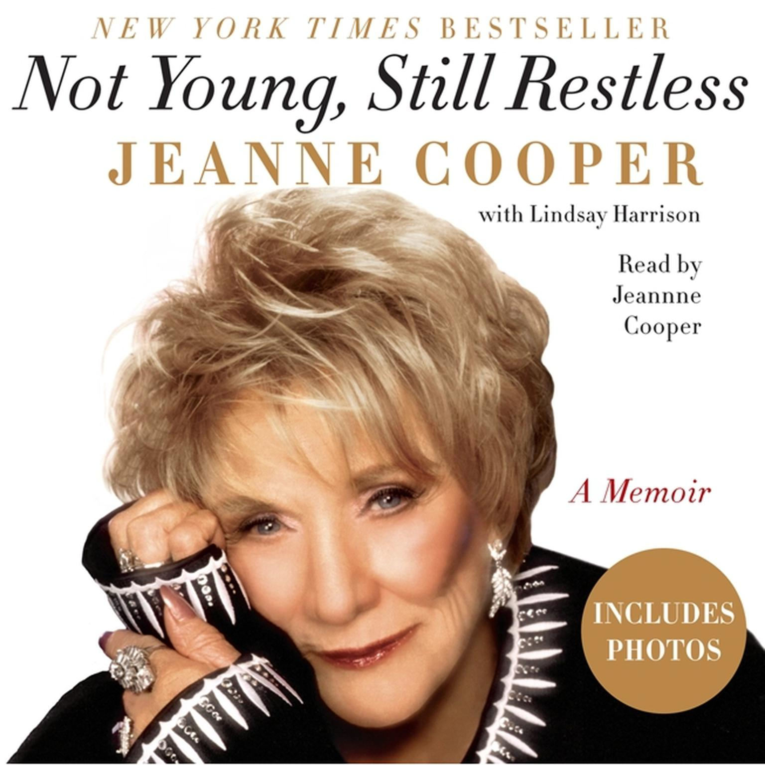 Printable Not Young, Still Restless: A Memoir Audiobook Cover Art