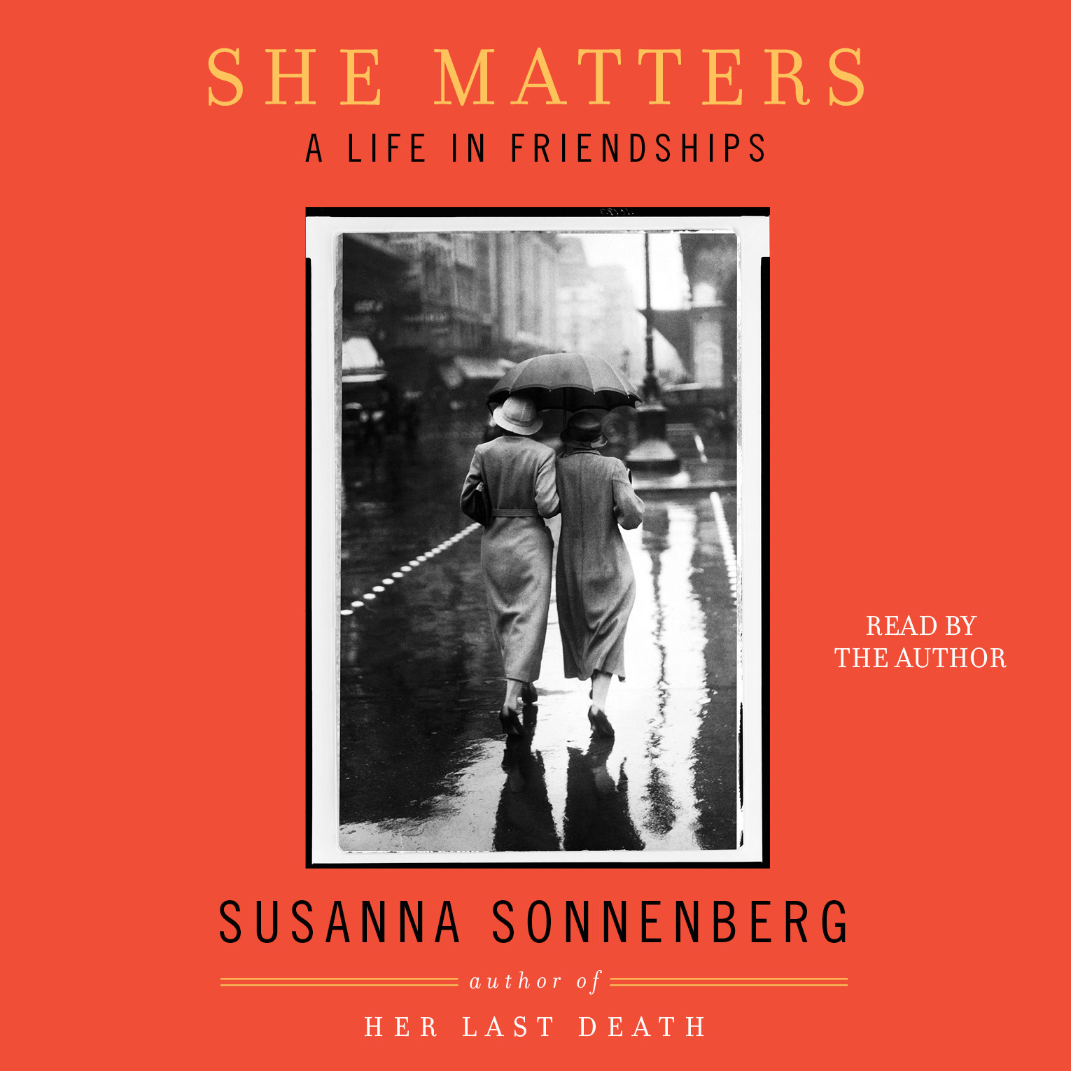 Printable She Matters: A Life in Friendships Audiobook Cover Art