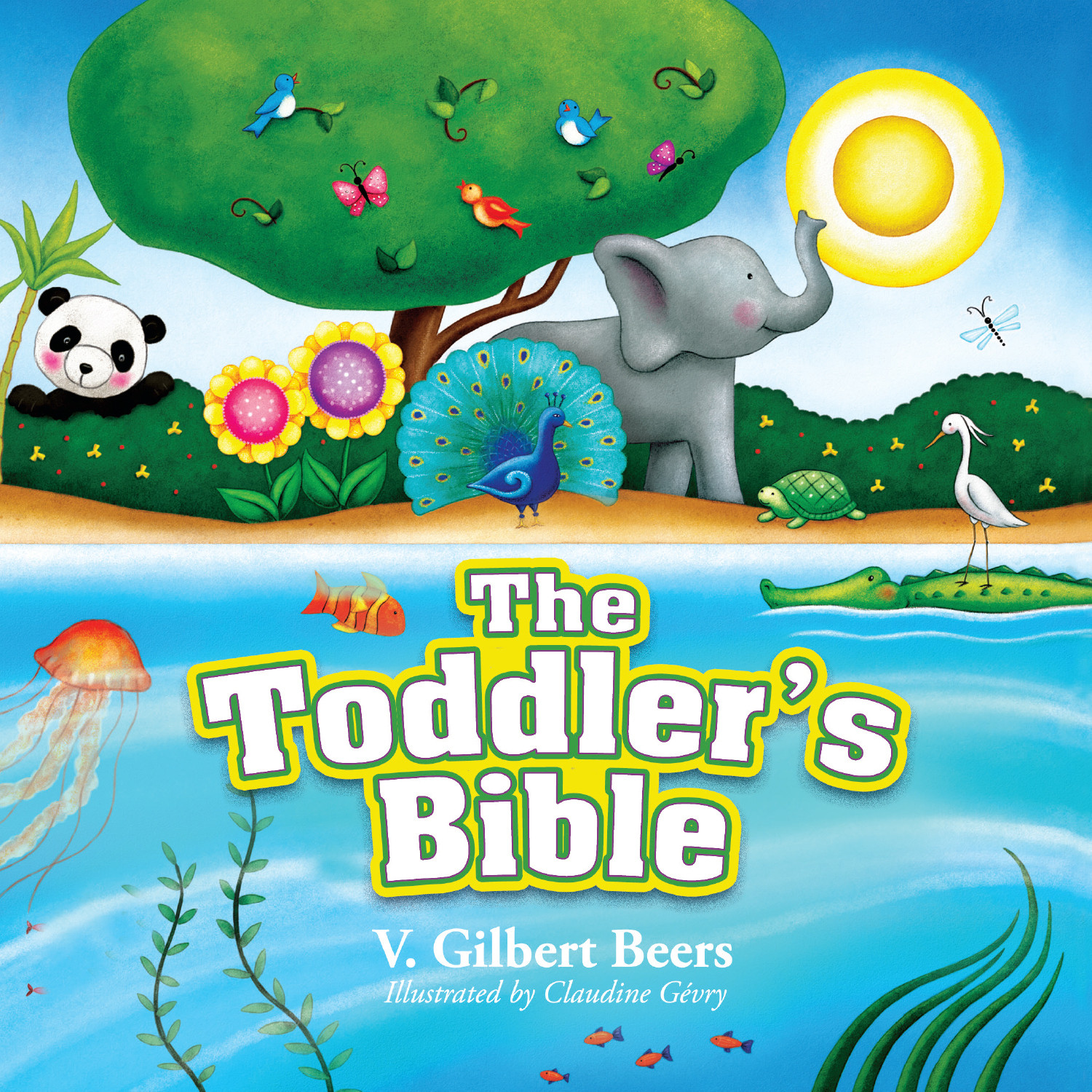 Printable The Toddler's Bible Audiobook Cover Art