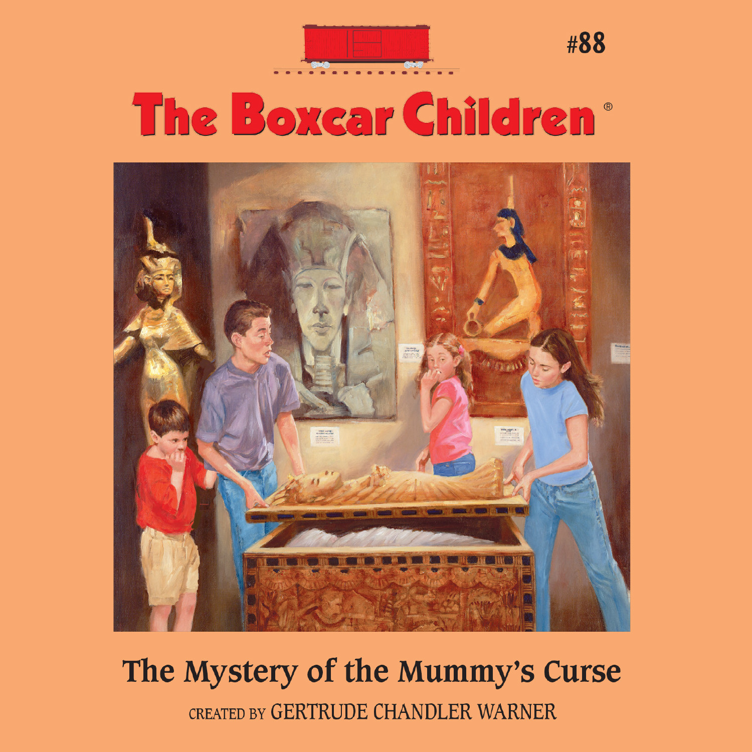 Boxcar Children Book Cover ~ Download the mystery of mummy s curse audiobook by