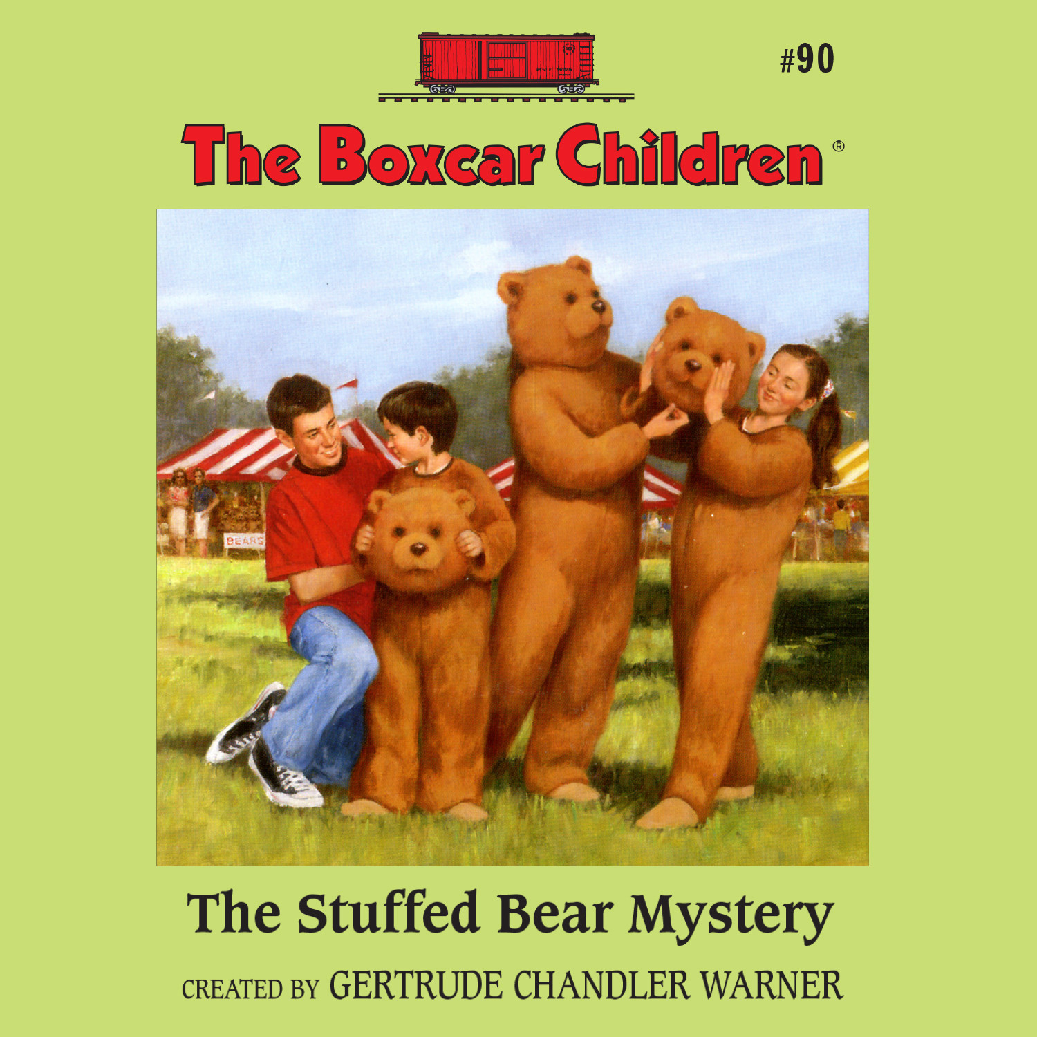 Printable The Stuffed Bear Mystery Audiobook Cover Art