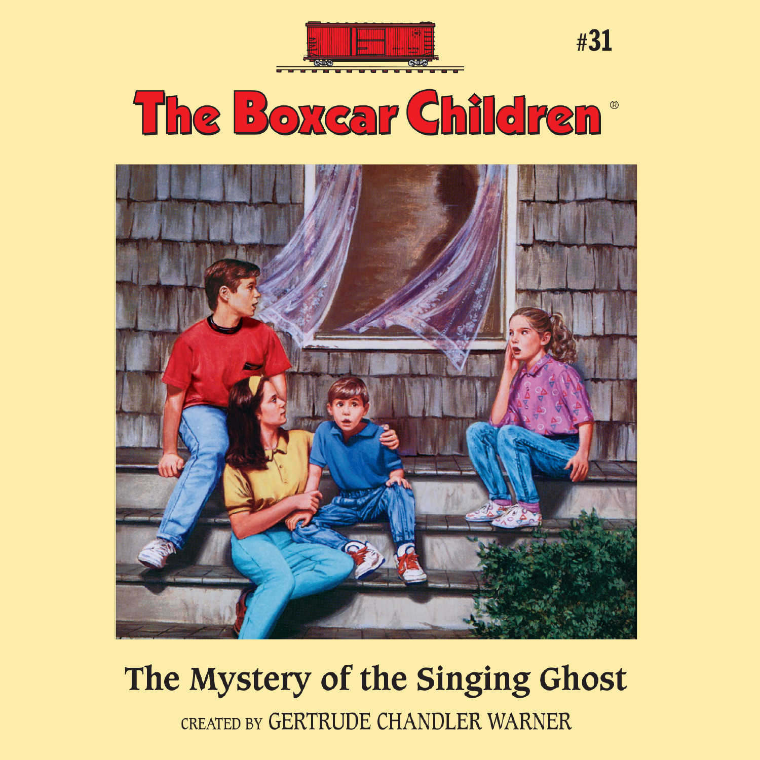Printable The Mystery of the Singing Ghost Audiobook Cover Art