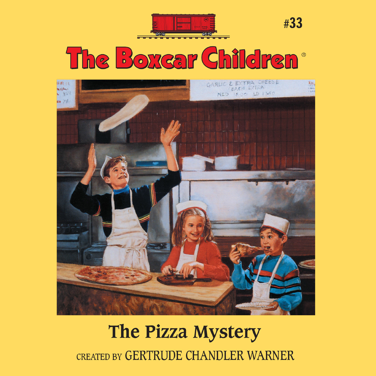 Printable The Pizza Mystery Audiobook Cover Art