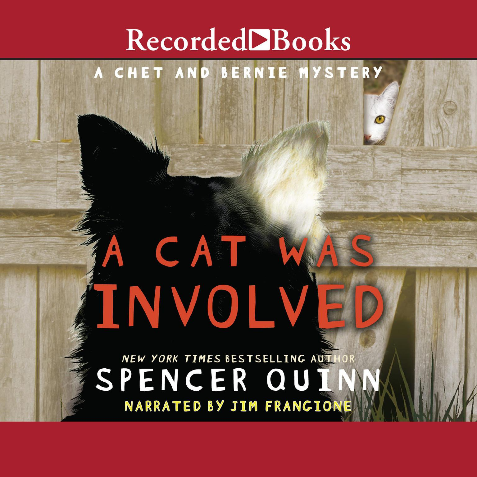 Printable A Cat Was Involved: A Chet and Bernie Mystery Short Story Audiobook Cover Art