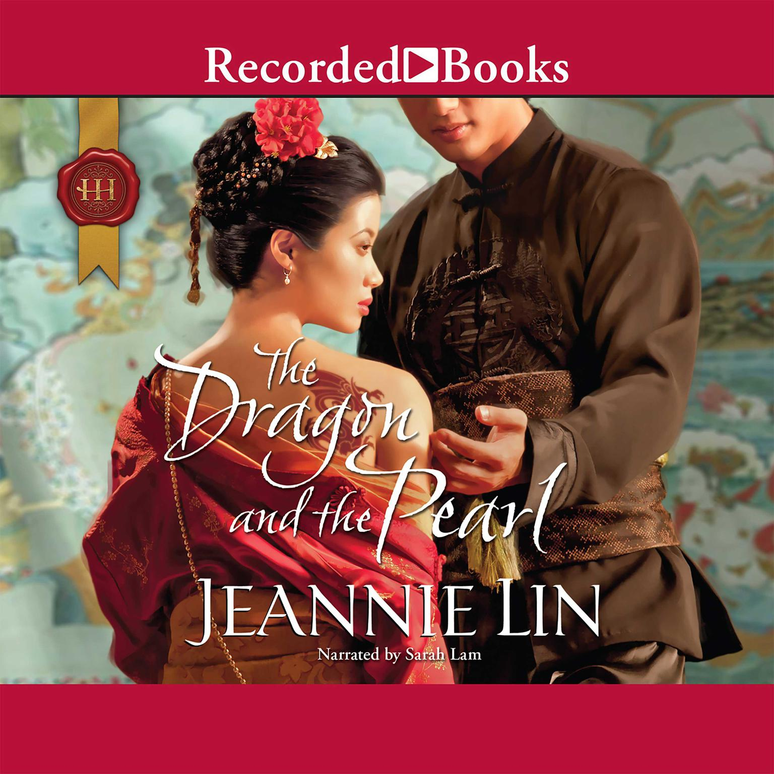 Printable The Dragon and the Pearl Audiobook Cover Art