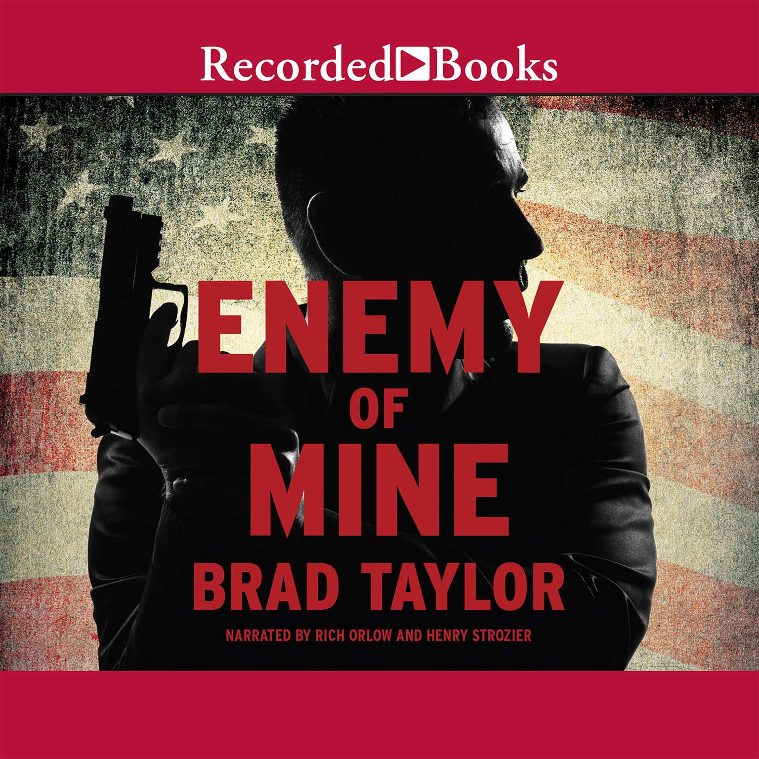 Printable Enemy of Mine: A Pike Logan Thriller Audiobook Cover Art