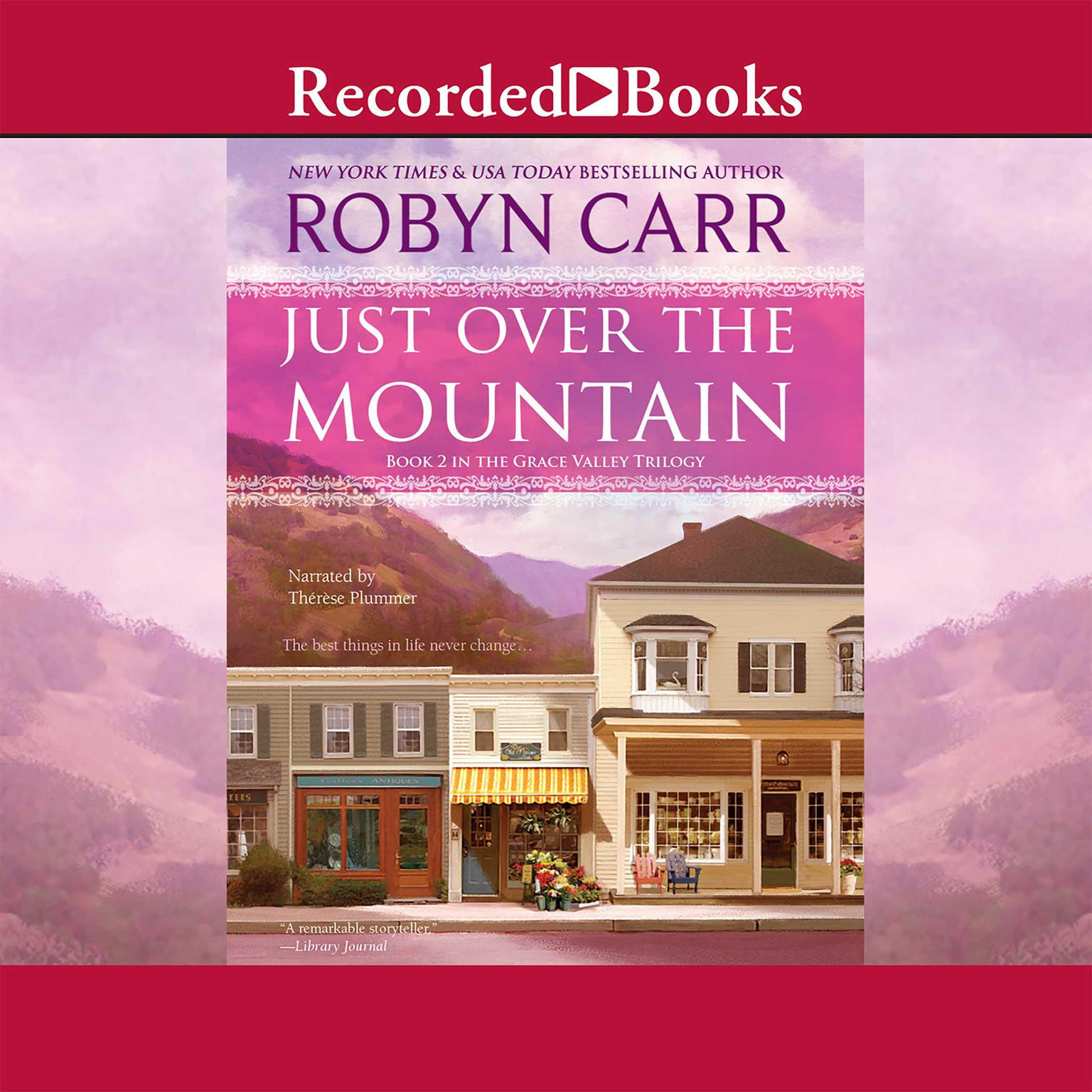 Printable Just Over the Mountain Audiobook Cover Art