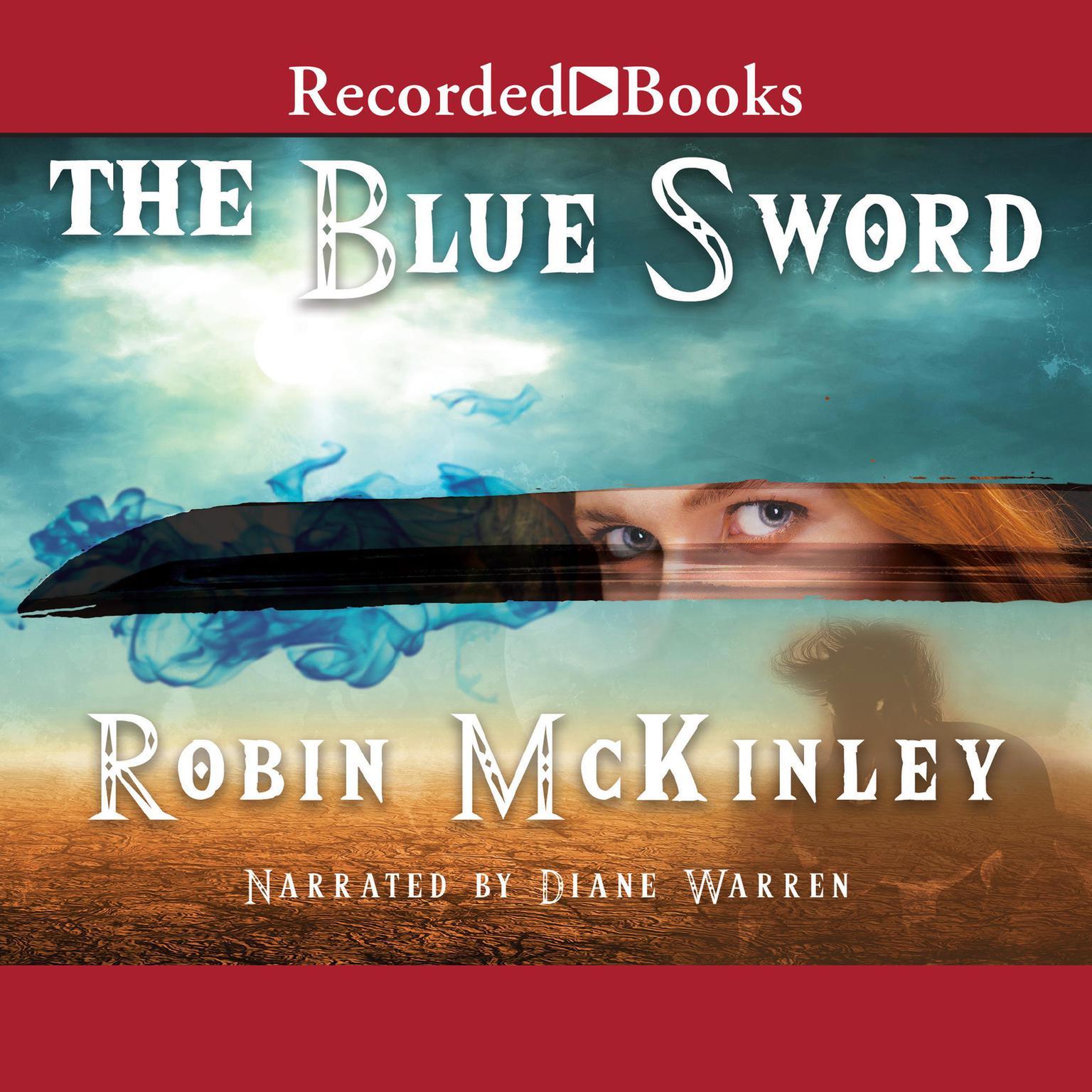 Printable The Blue Sword Audiobook Cover Art