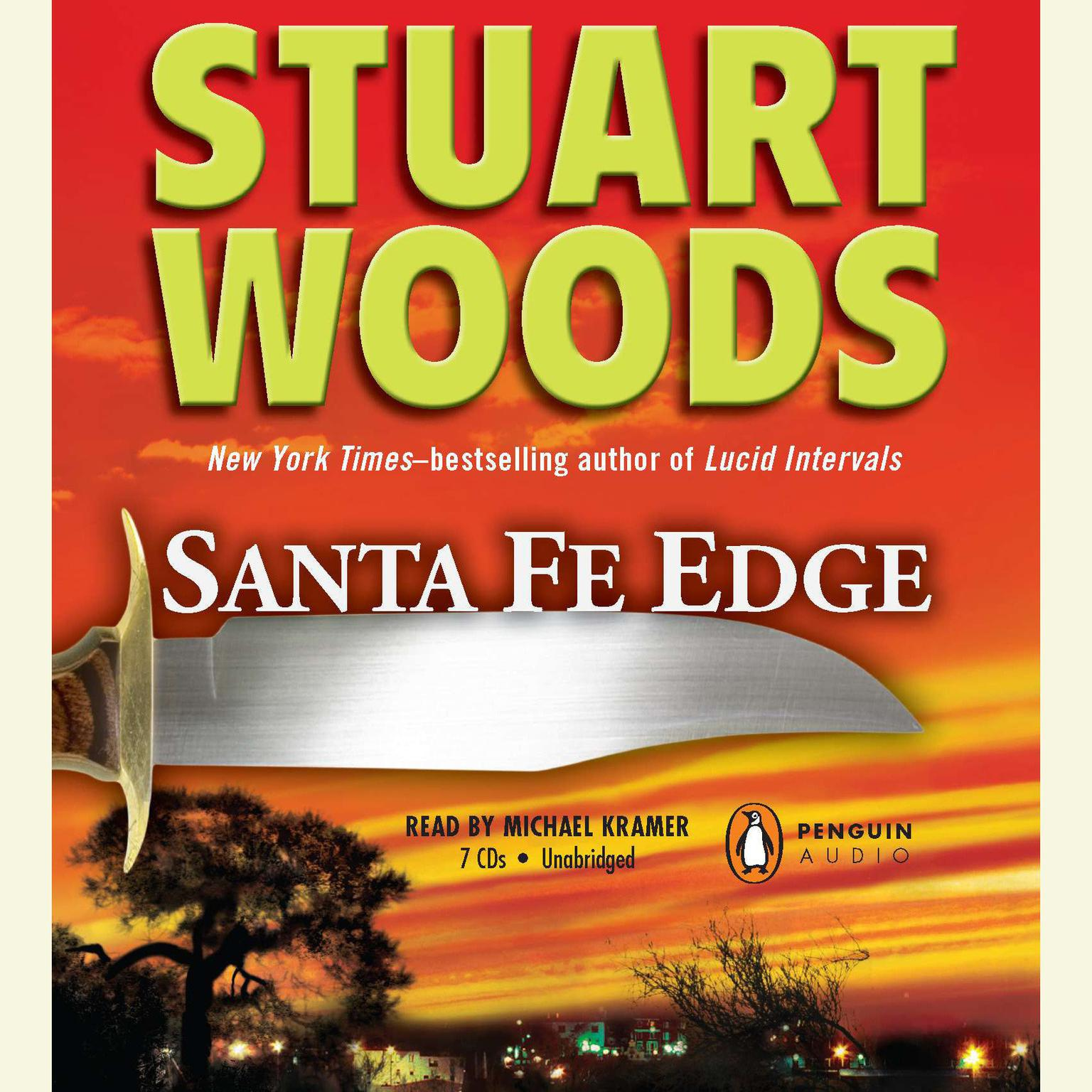 Printable Santa Fe Edge Audiobook Cover Art