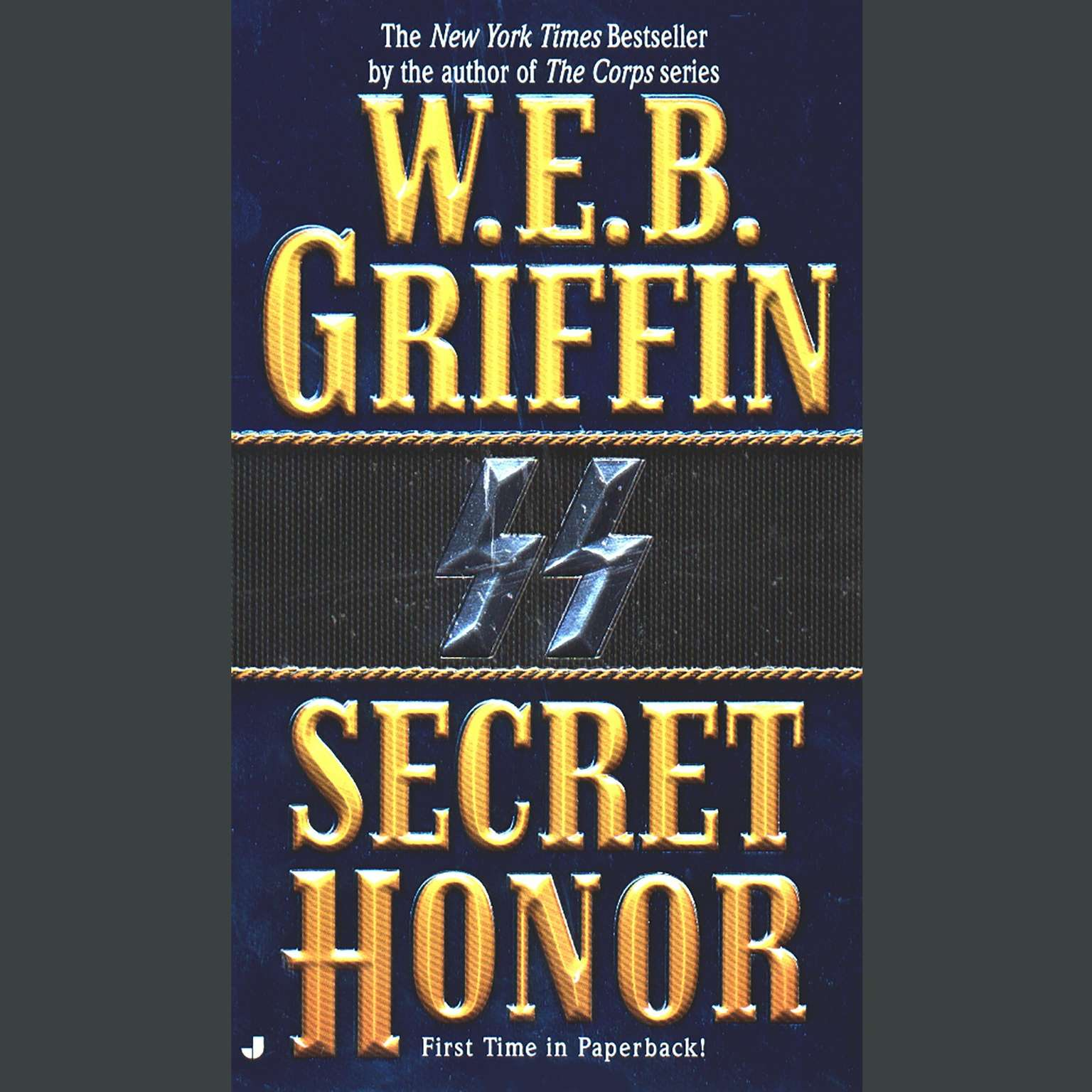 Printable Secret Honor Audiobook Cover Art