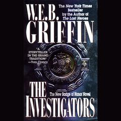 The Investigators Audiobook, by W. E. B. Griffin