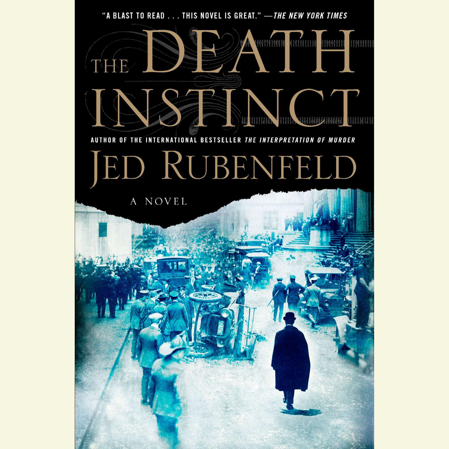 Printable The Death Instinct Audiobook Cover Art