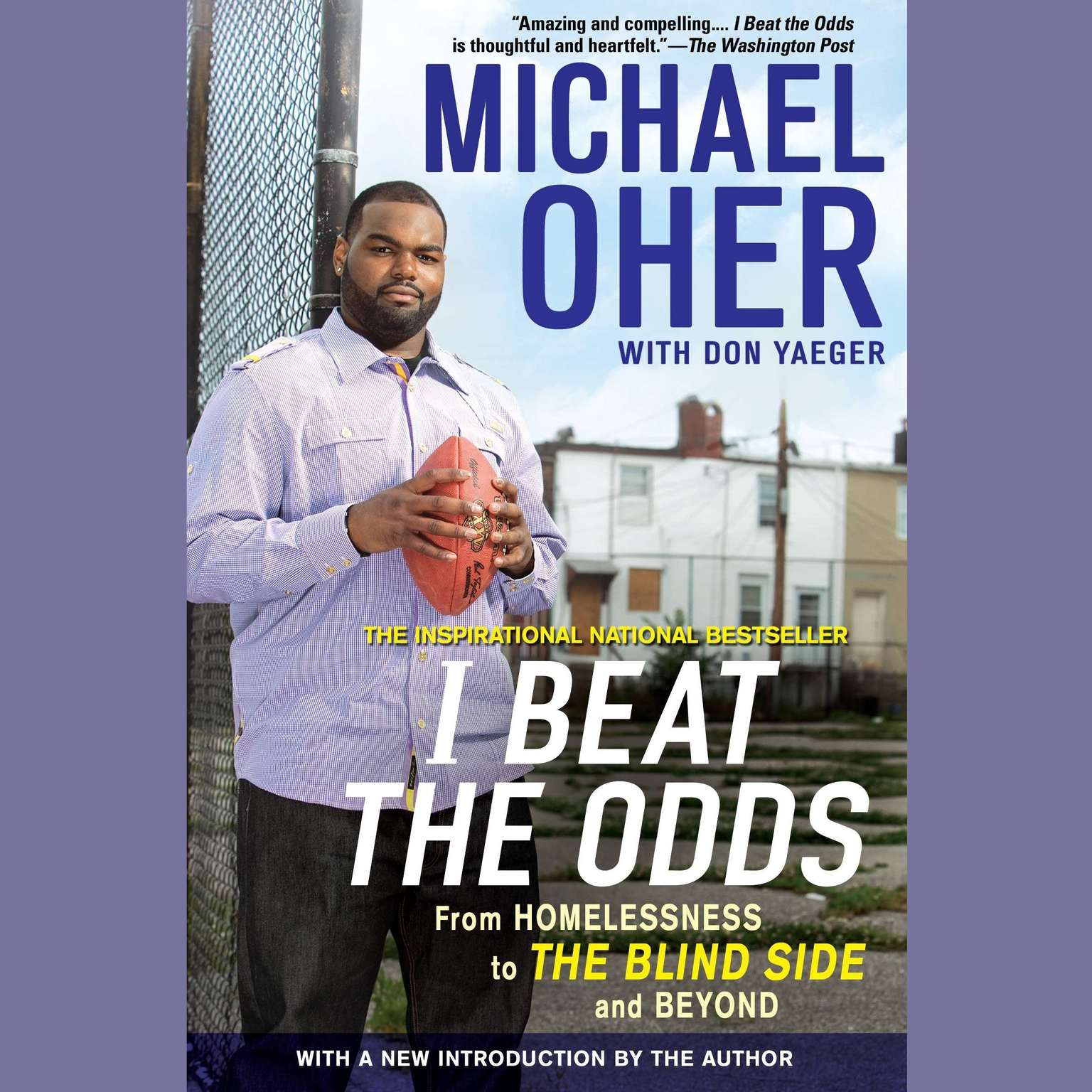 Printable I Beat the Odds: From Homelessness, to The Blind Side, and Beyond Audiobook Cover Art