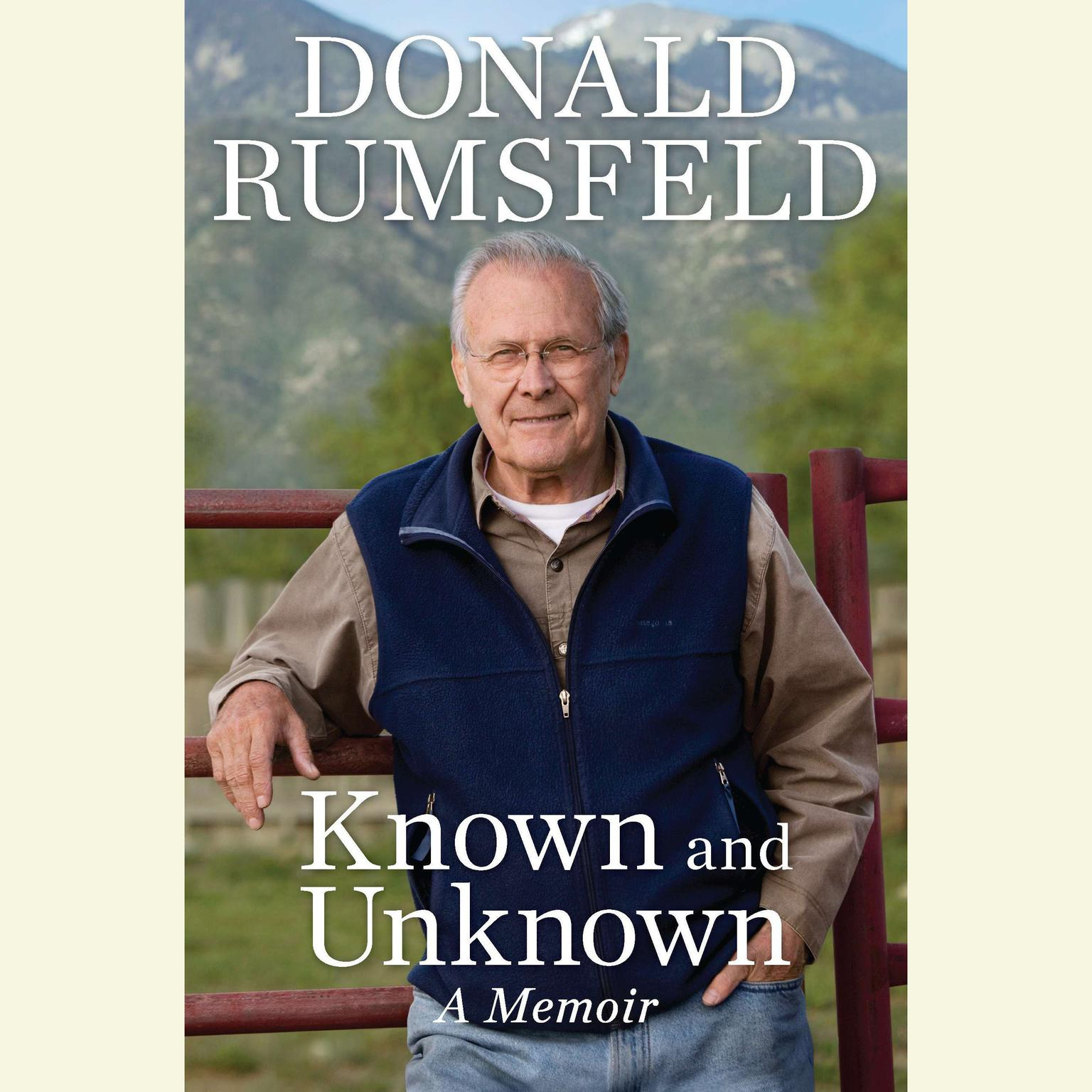 Printable Known and Unknown: A Memoir Audiobook Cover Art