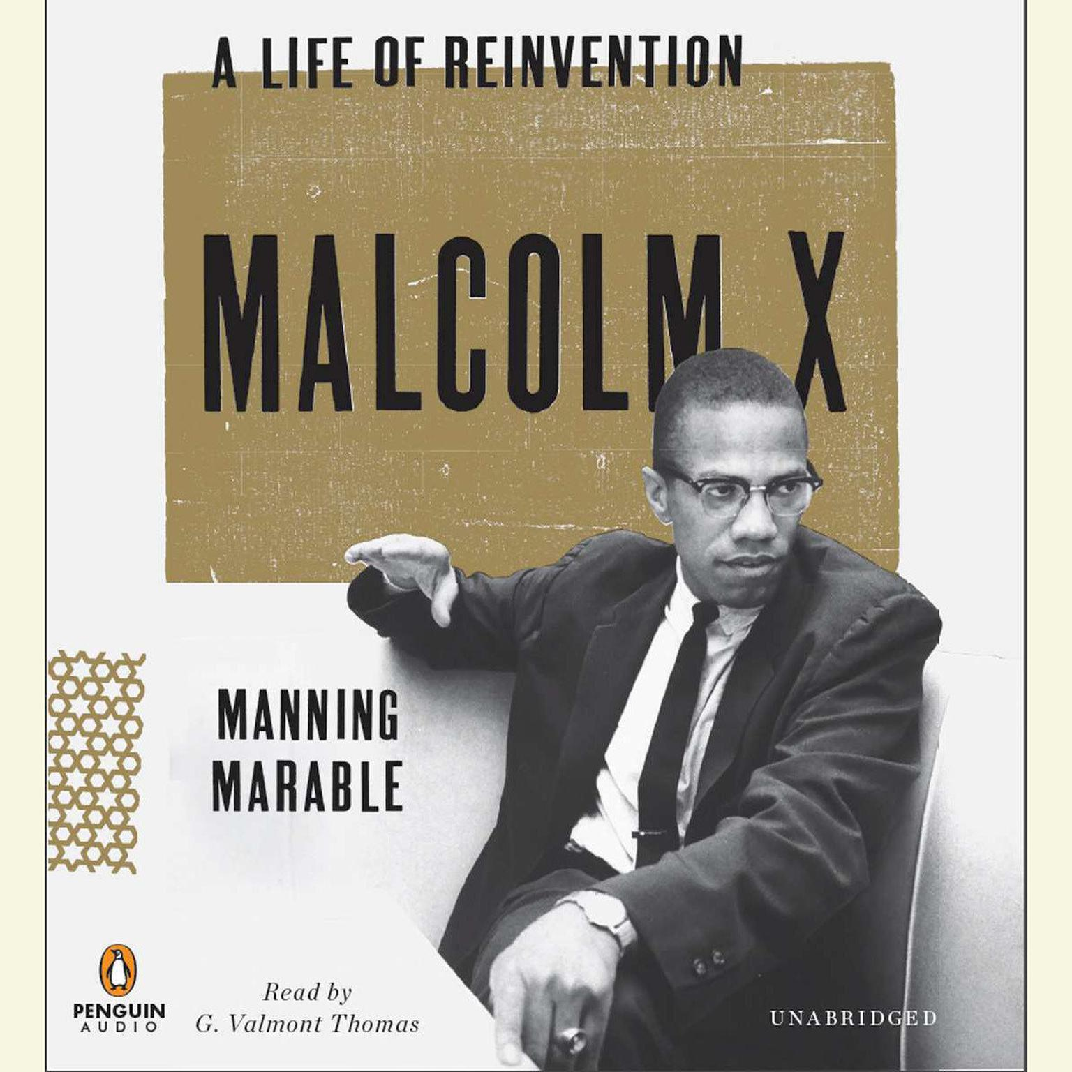 Printable Malcolm X: A Life of Reinvention Audiobook Cover Art