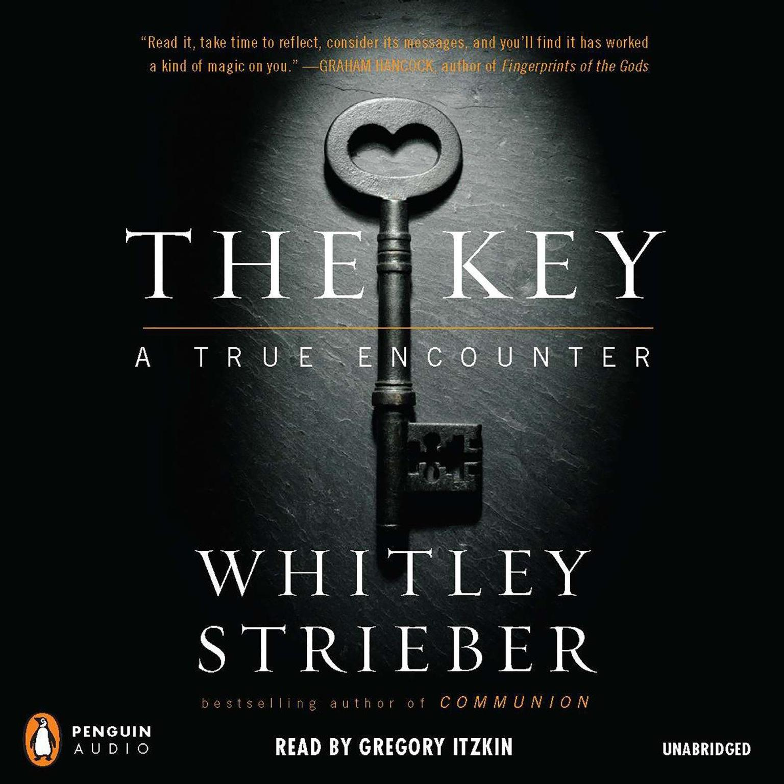 Printable The Key: A True Encounter Audiobook Cover Art