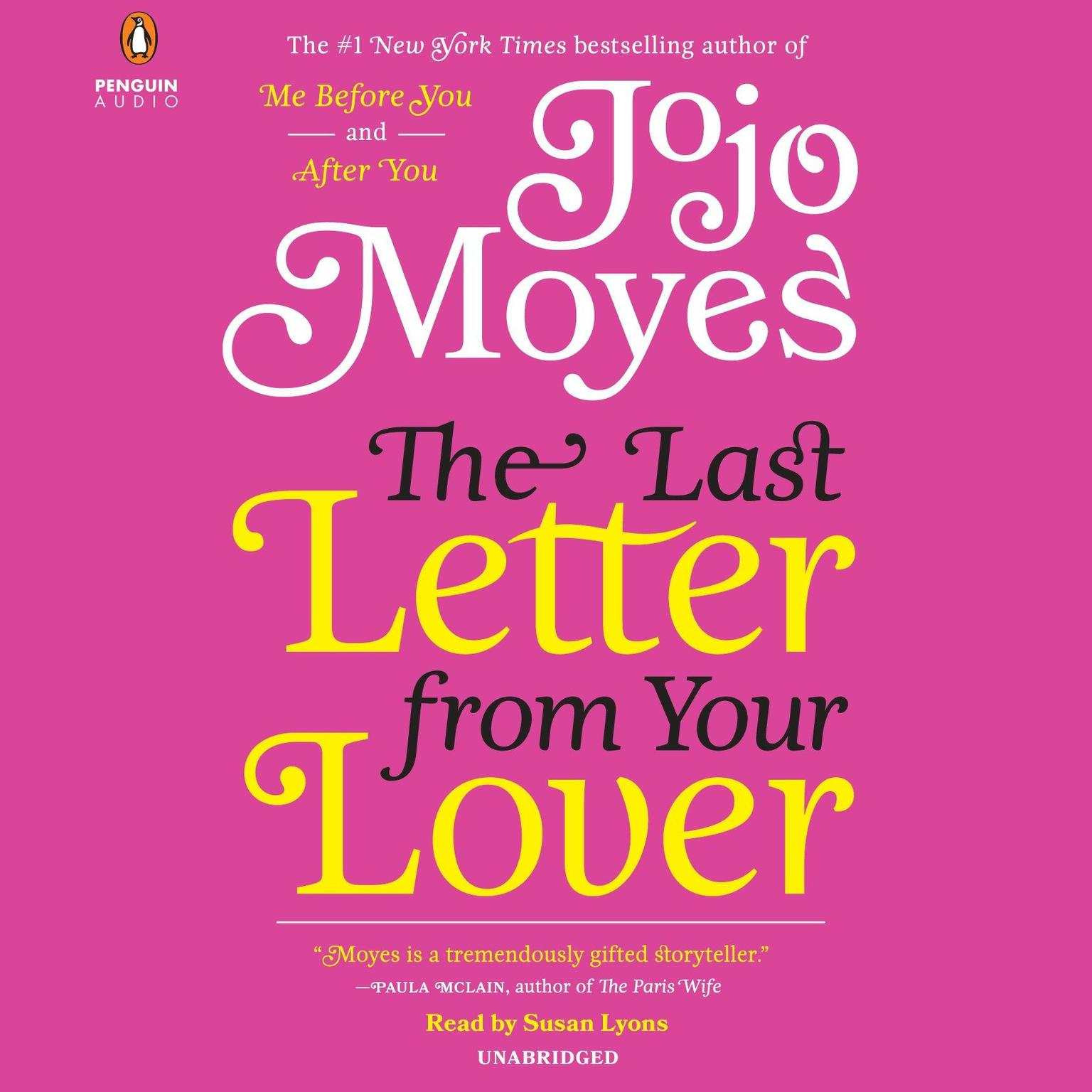 Printable The Last Letter from Your Lover: A Novel Audiobook Cover Art