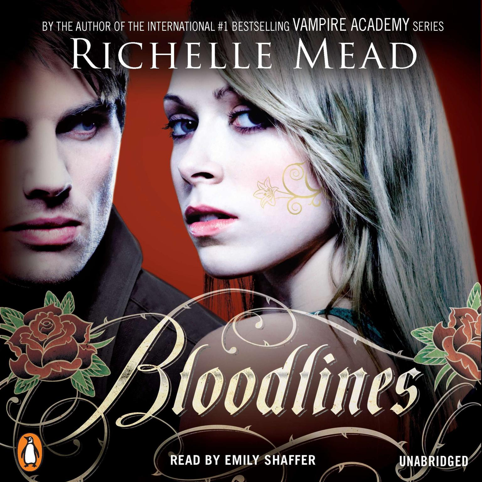 Printable Bloodlines Audiobook Cover Art