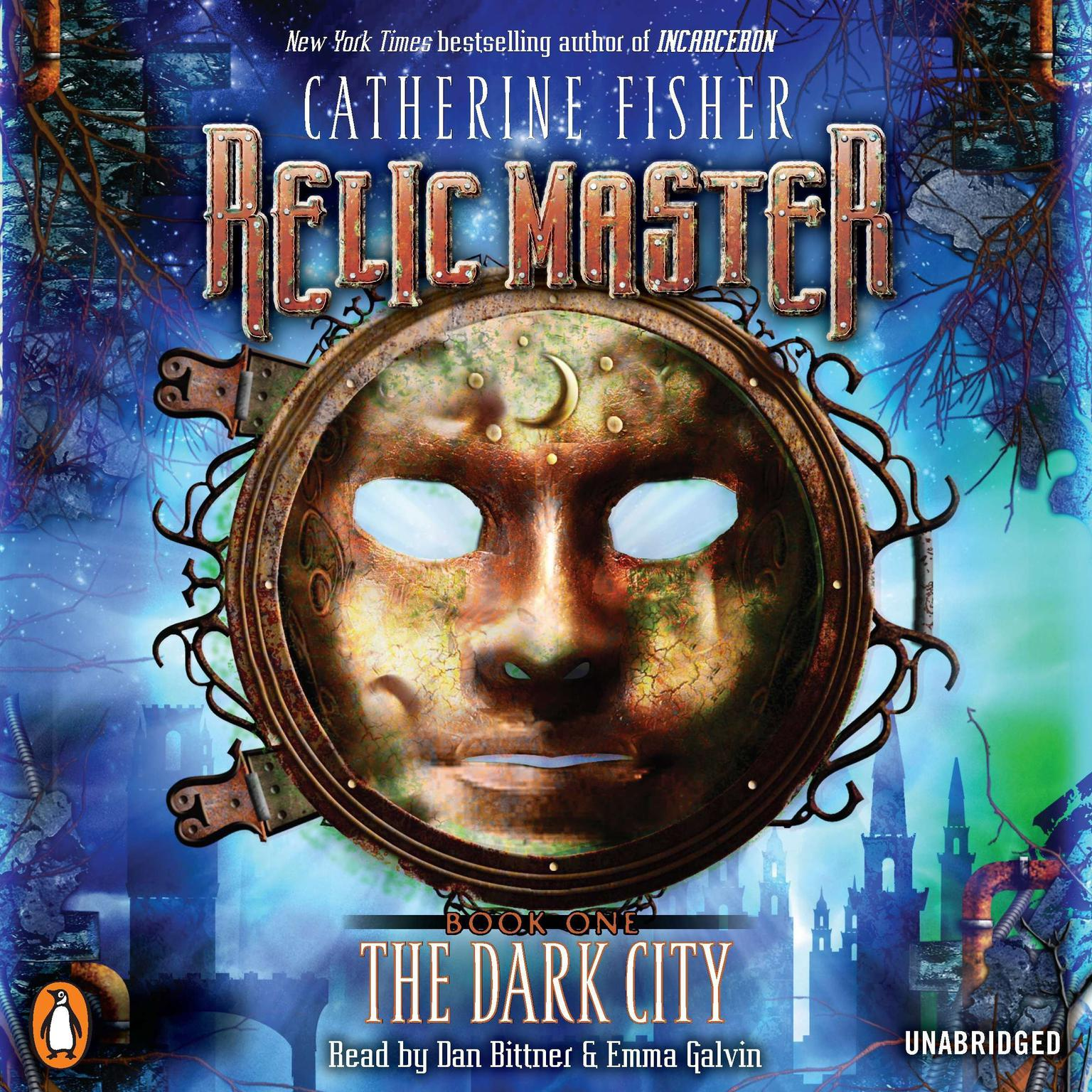 Printable Relic Master: the Dark City Audiobook Cover Art