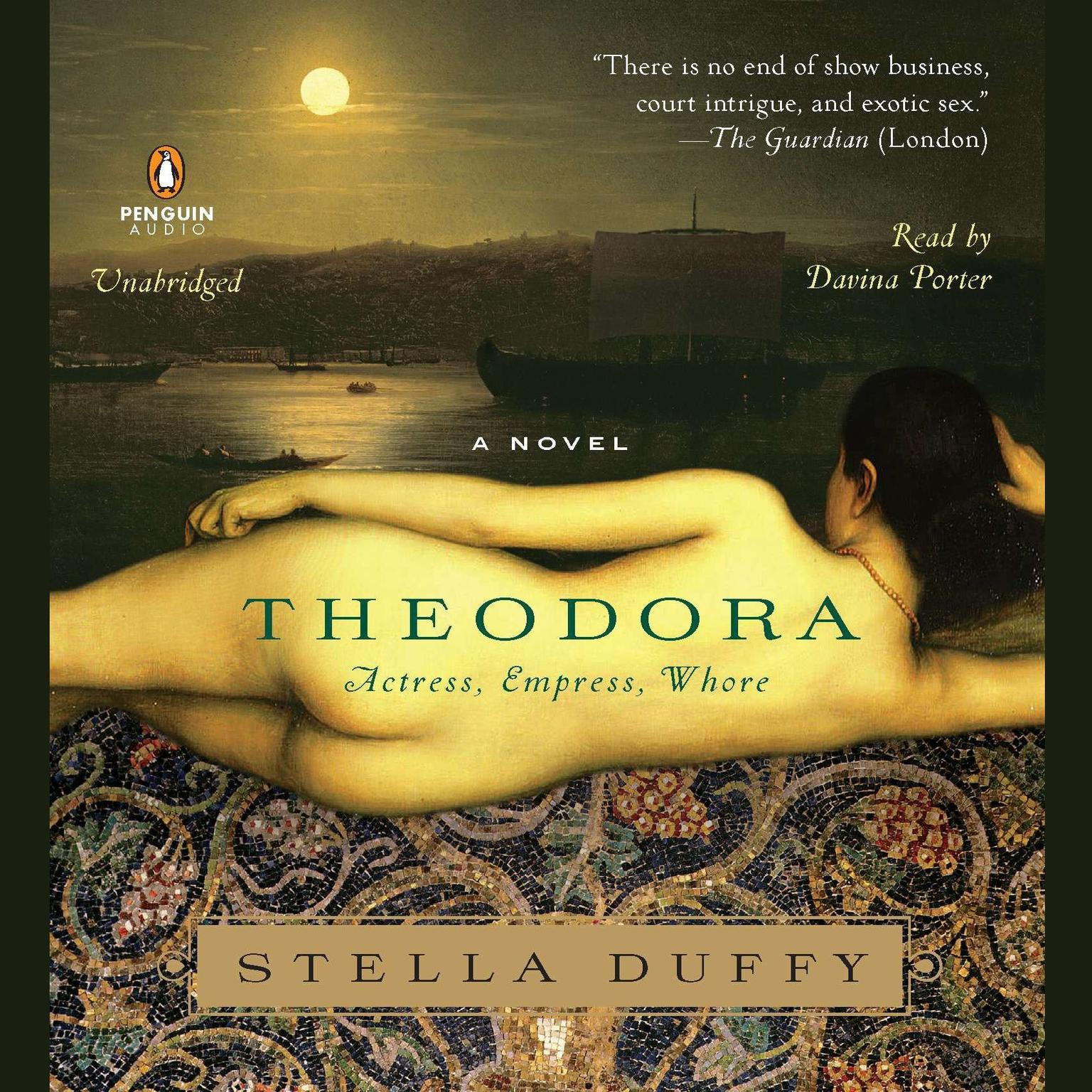 Printable Theodora: Actress, Empress, Whore; A Novel Audiobook Cover Art
