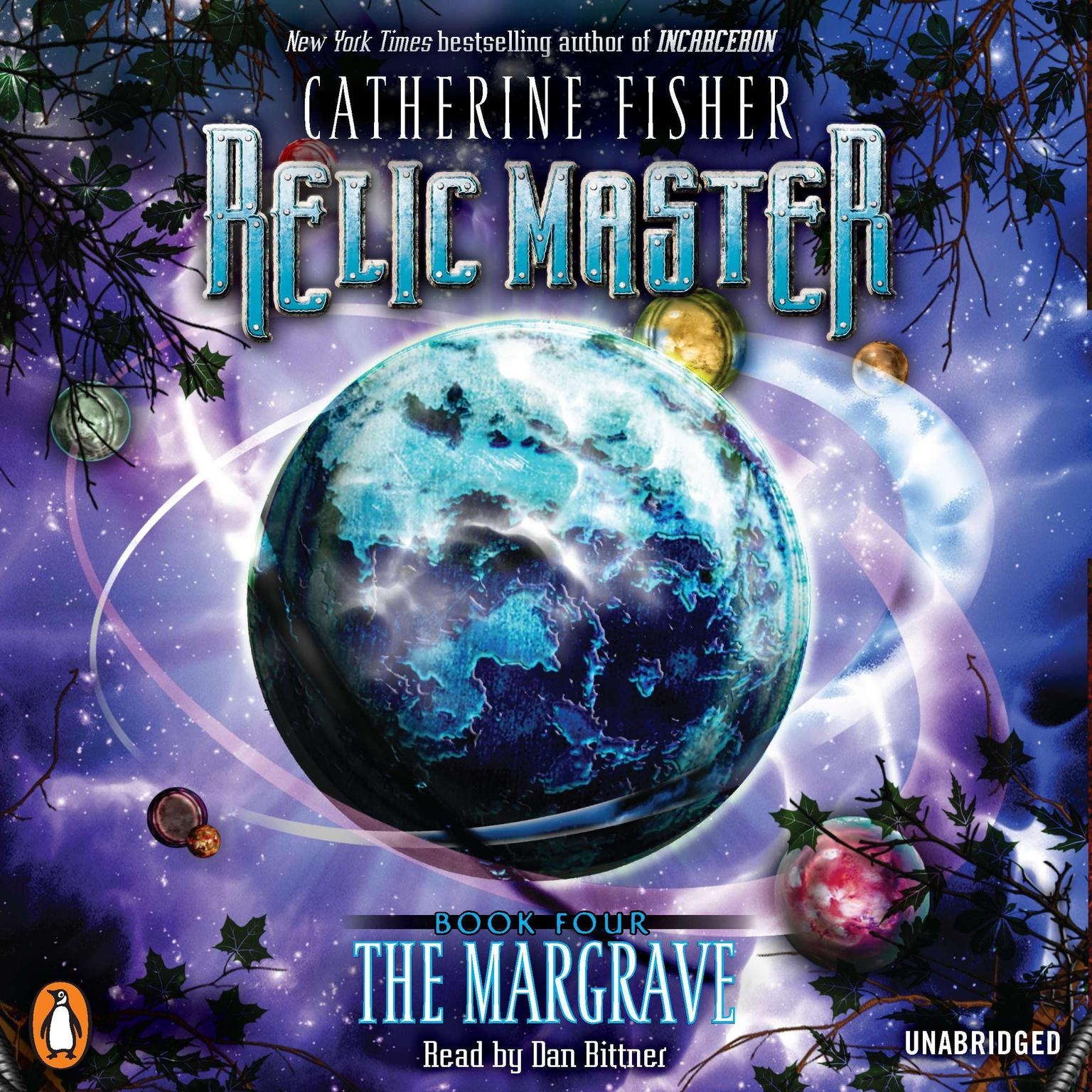Printable Relic Master: the Margrave Audiobook Cover Art
