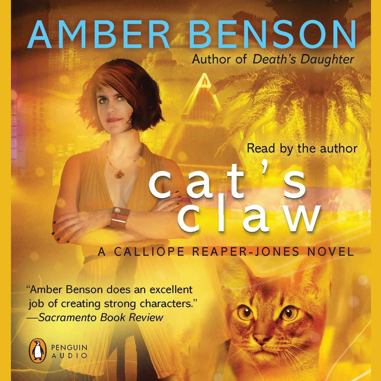 Printable Cat's Claw Audiobook Cover Art