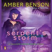 Serpents Storm Audiobook, by Amber Benson