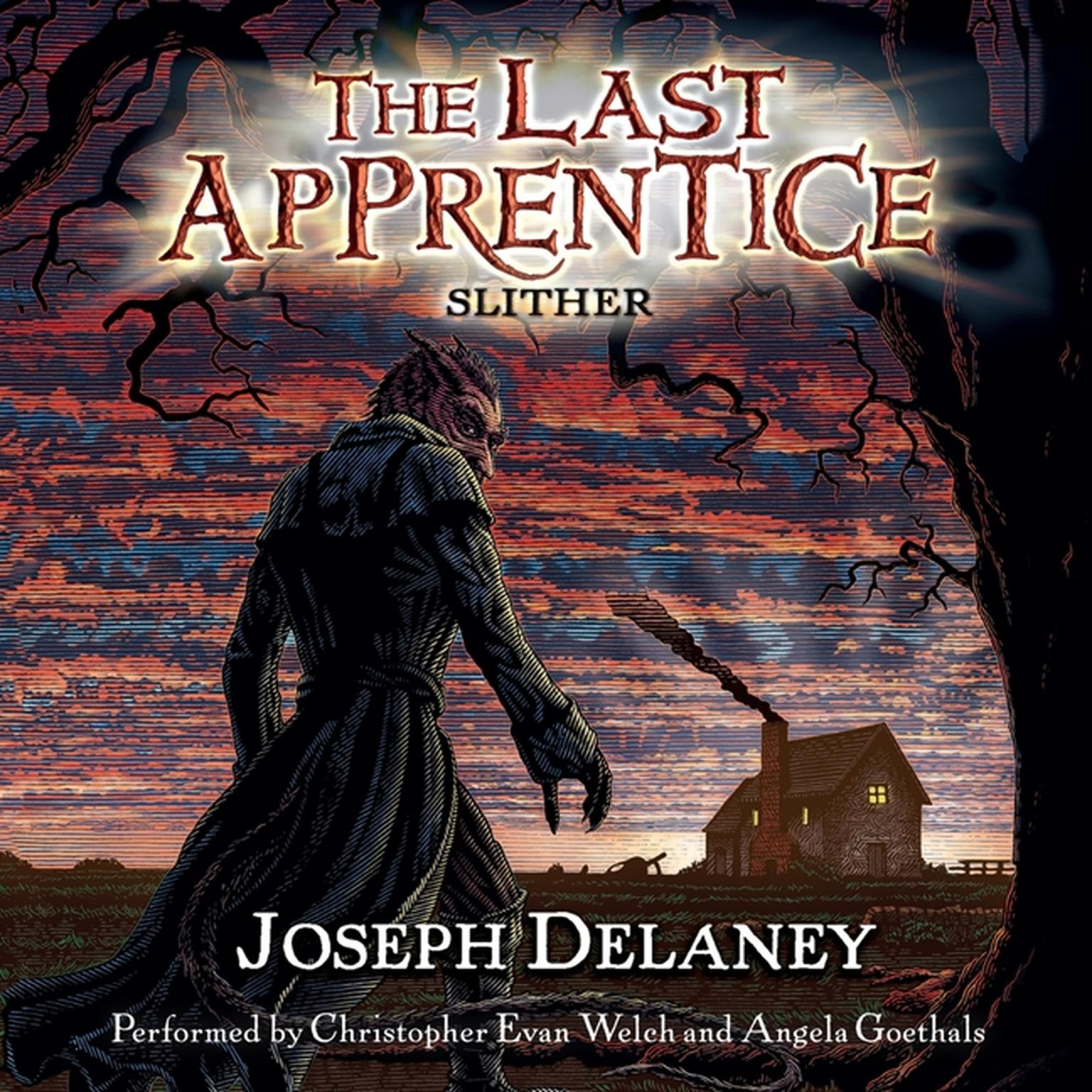 Printable The Last Apprentice: Slither (Book 11) Audiobook Cover Art