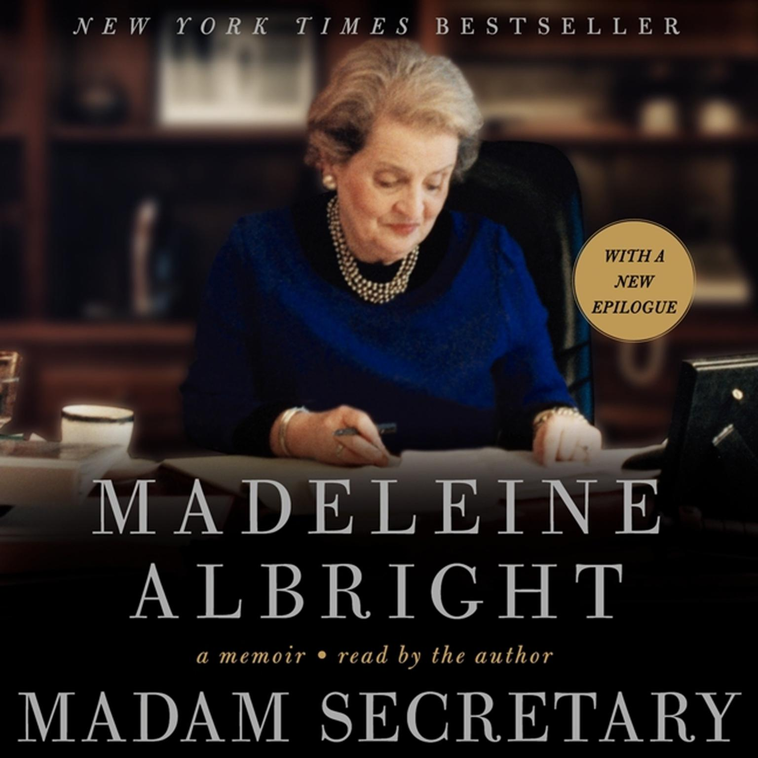 Printable Madam Secretary: A Memoir Audiobook Cover Art