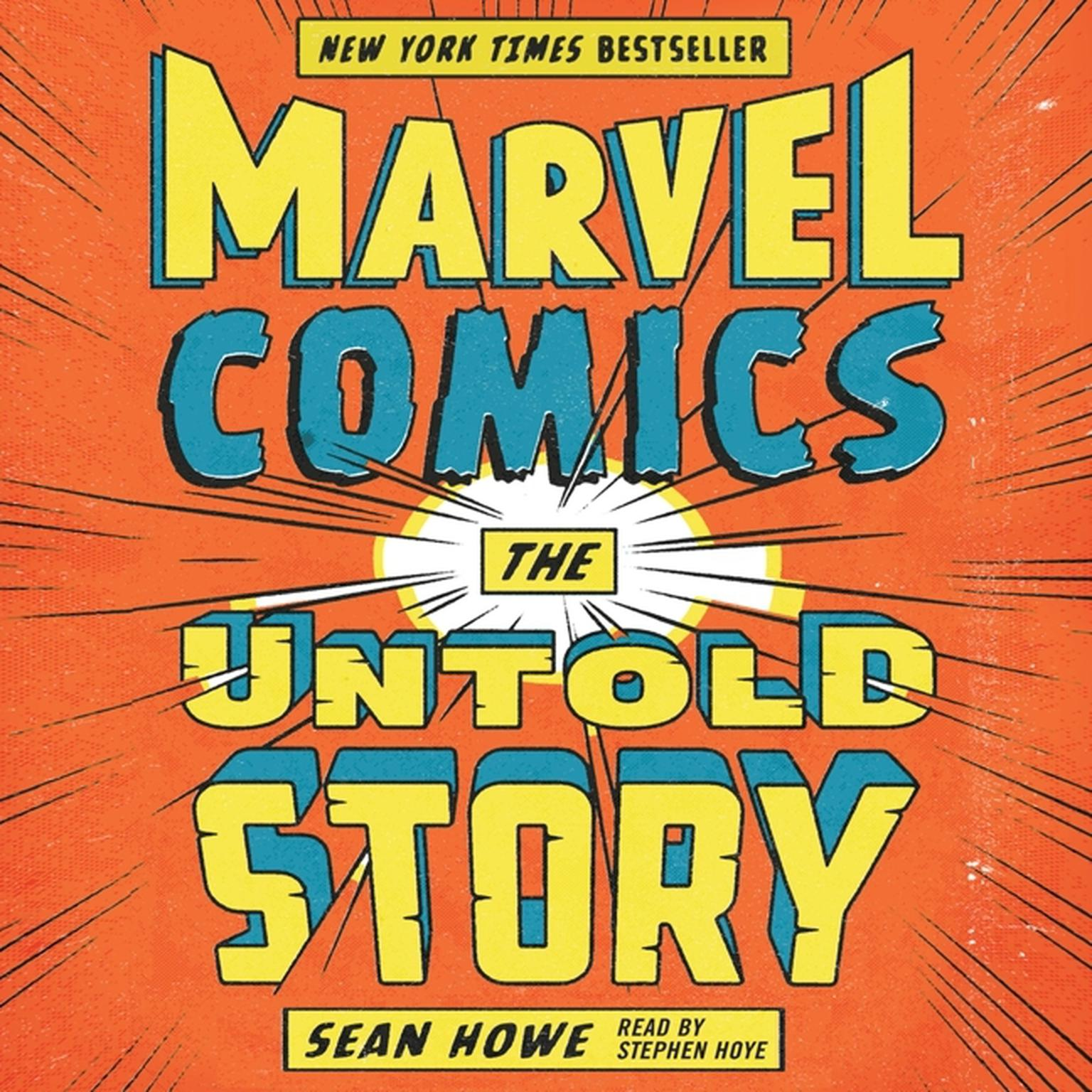 Printable Marvel Comics: The Untold Story Audiobook Cover Art