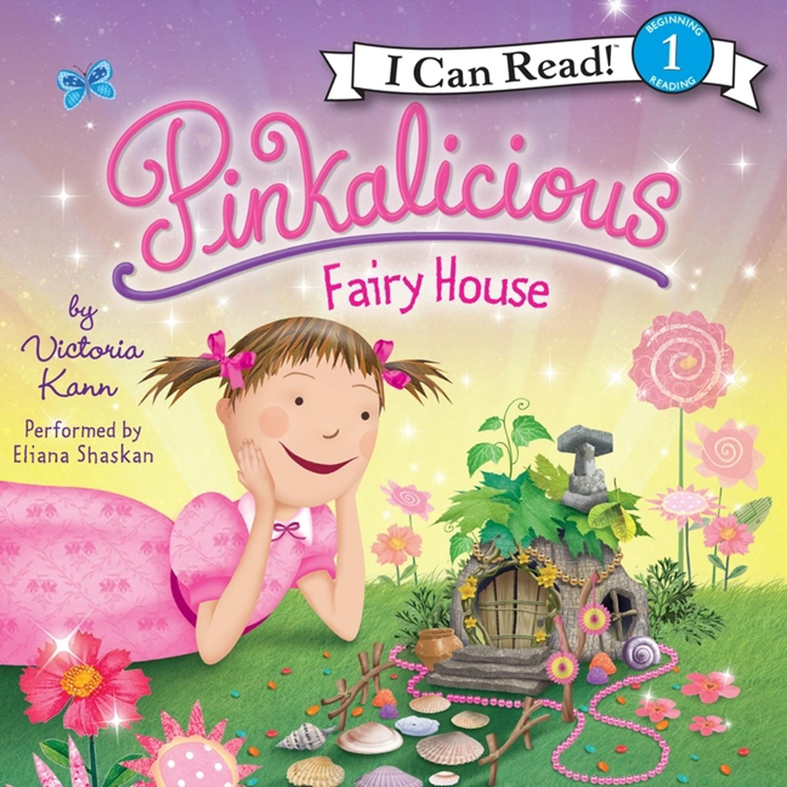 Printable Pinkalicious: Fairy House Audiobook Cover Art