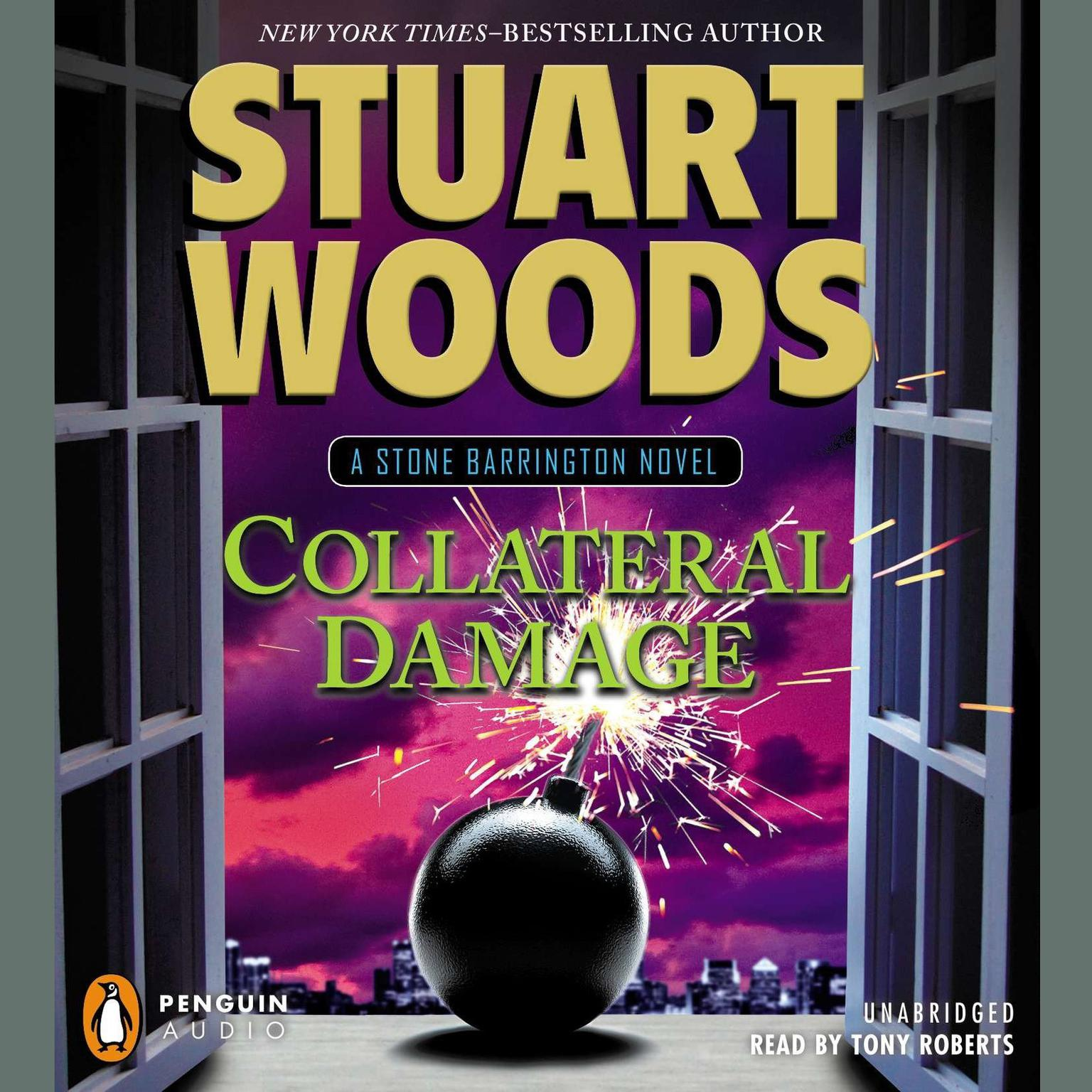Printable Collateral Damage Audiobook Cover Art