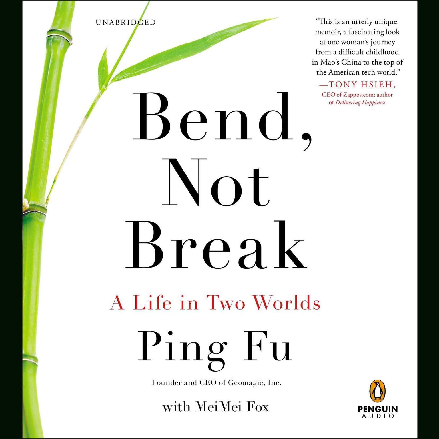Printable Bend, Not Break: A Life in Two Worlds Audiobook Cover Art