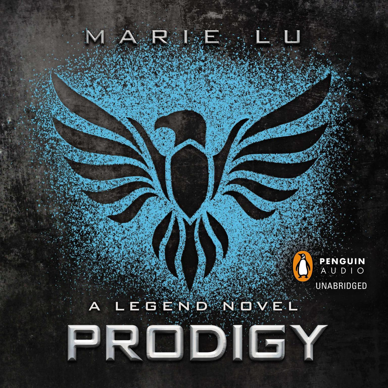 Printable Prodigy: A Legend Novel Audiobook Cover Art