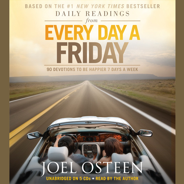 Printable Daily Readings from Every Day a Friday: 90 Devotions to Be Happier 7 Days a Week Audiobook Cover Art