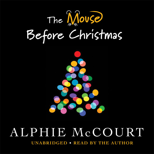 Printable The Mouse before Christmas Audiobook Cover Art