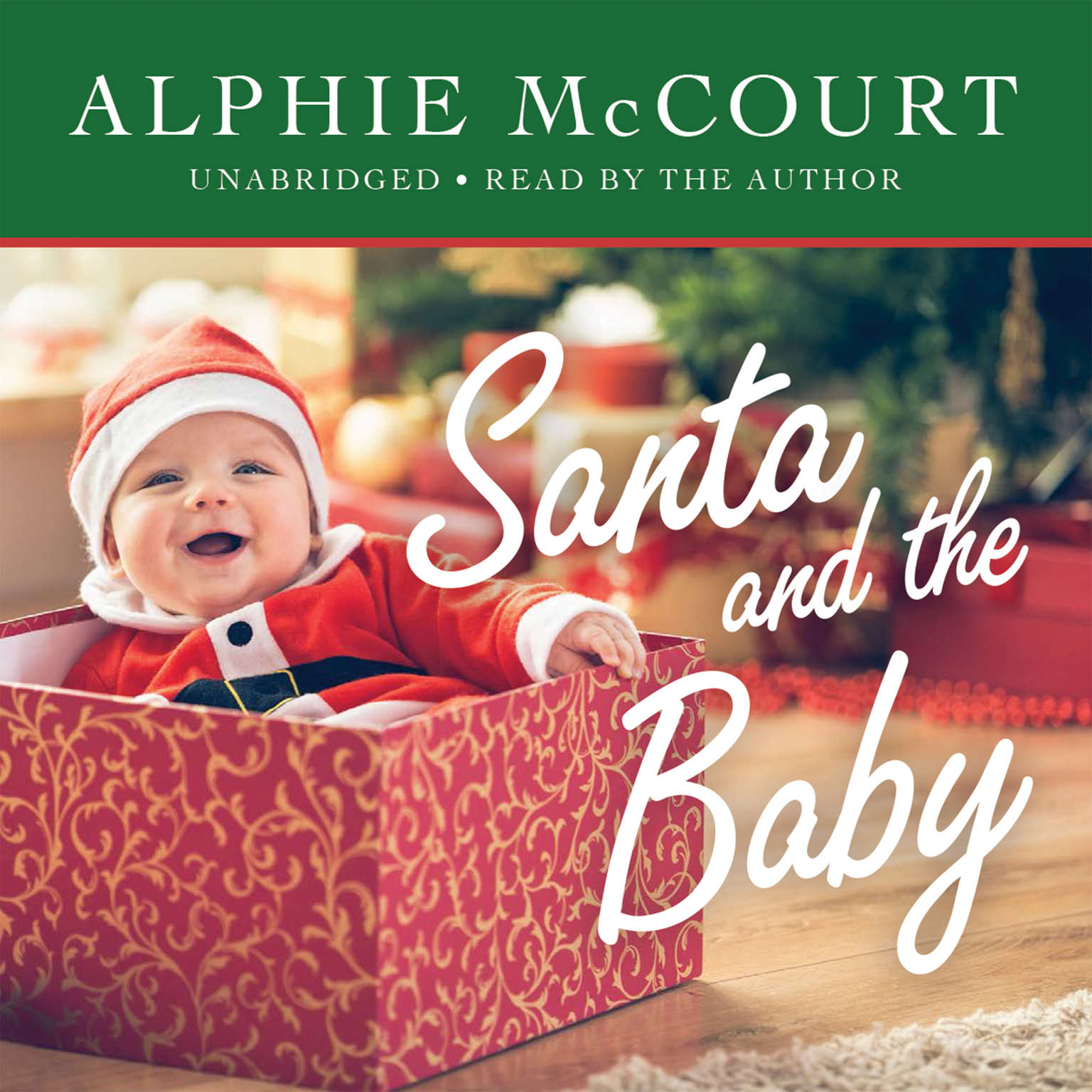Printable Santa and the Baby Audiobook Cover Art