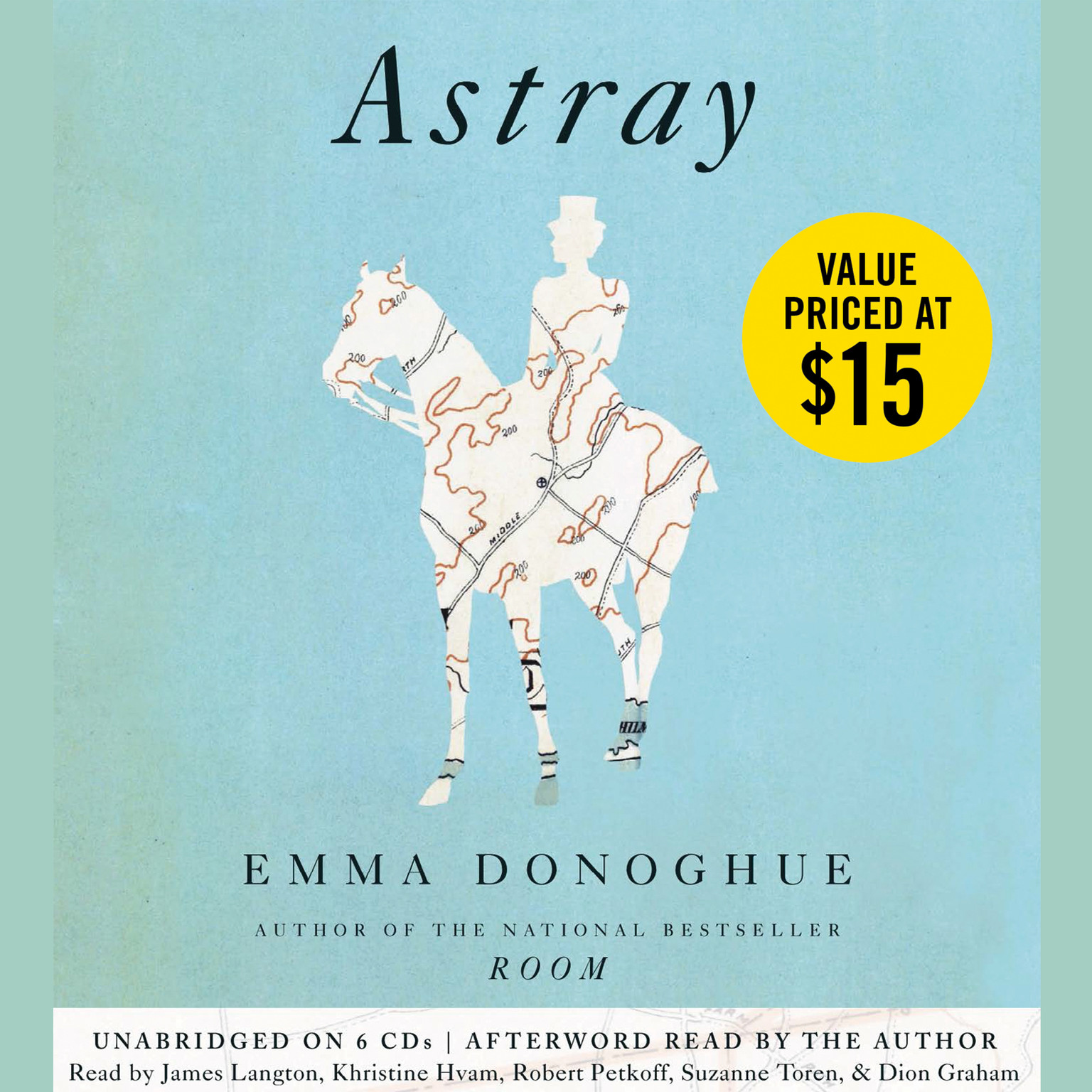 Printable Astray Audiobook Cover Art