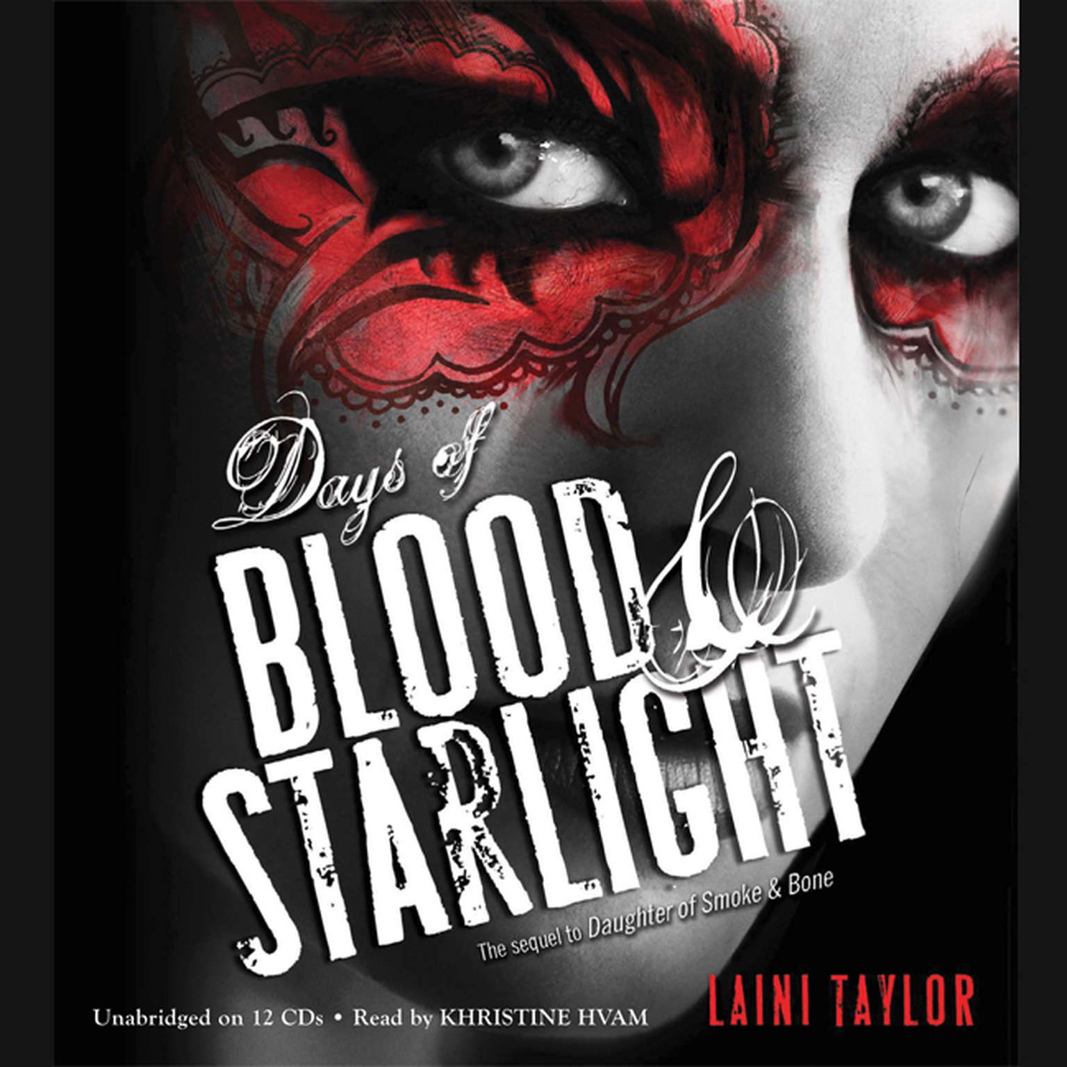Printable Days of Blood and Starlight Audiobook Cover Art
