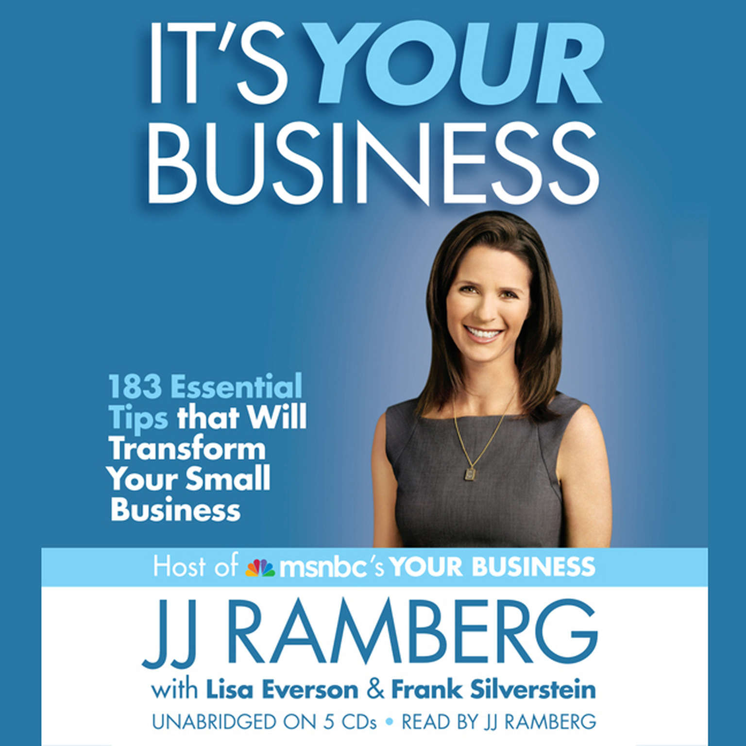 Printable It's Your Business: 183 Essential Tips that Will Transform Your Small Business Audiobook Cover Art