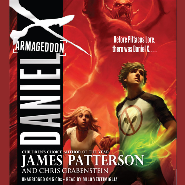 Printable Daniel X: Armageddon Audiobook Cover Art