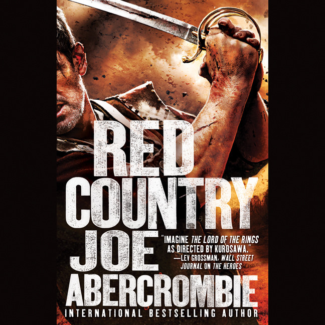 Printable Red Country Audiobook Cover Art