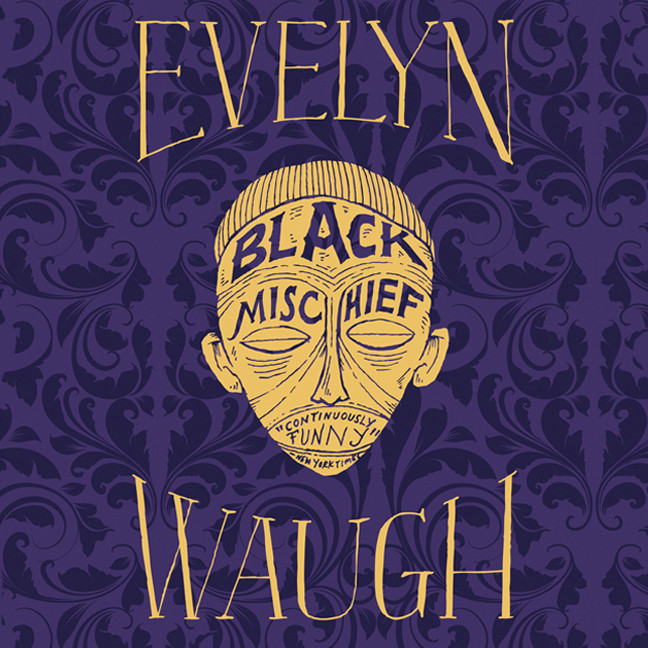 Printable Black Mischief Audiobook Cover Art